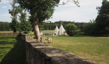Bison Ranch Rožnov teepee