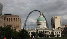 Centrum St. Louis a Gateway Arch